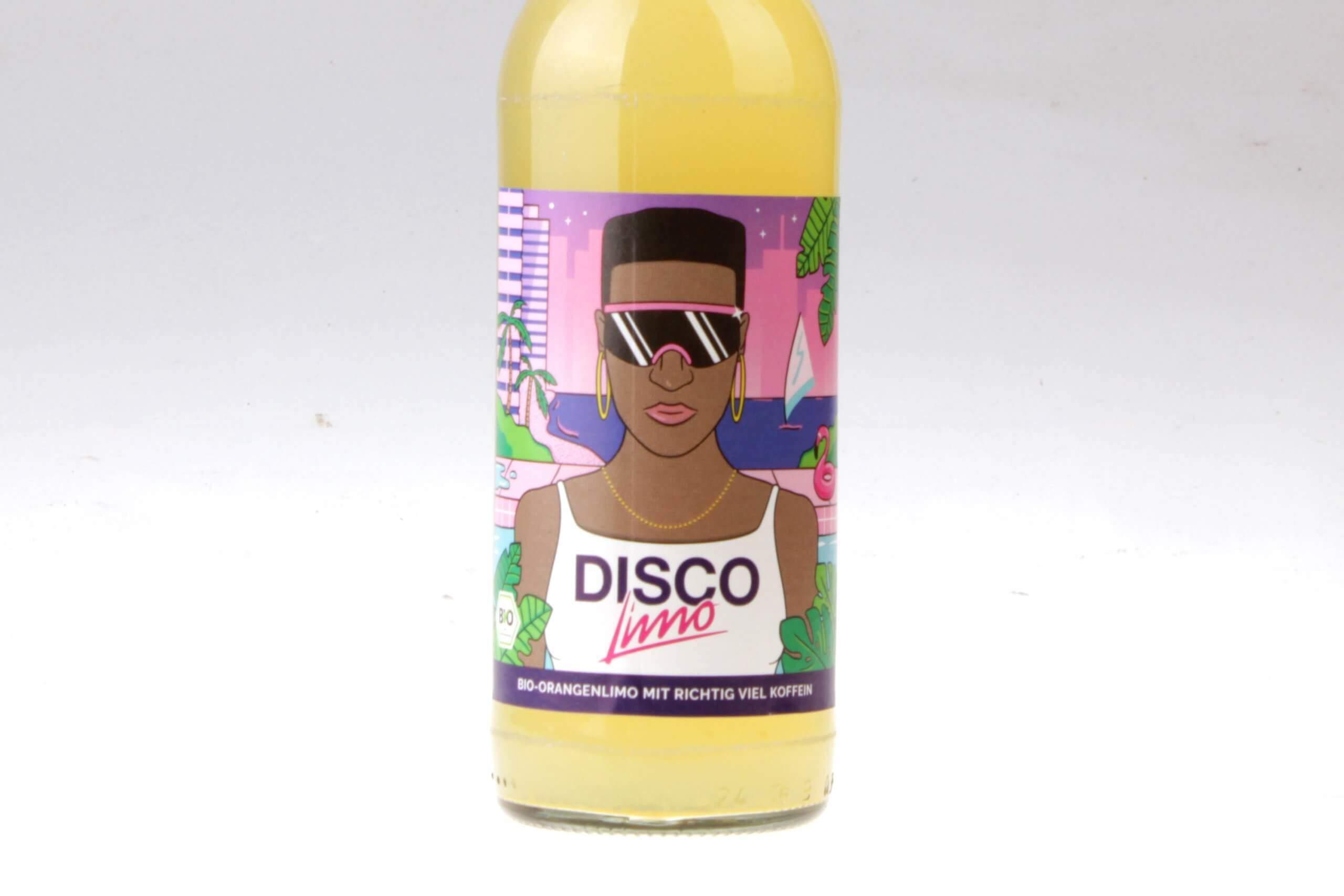 Disco Limo Orange mit Koffein von feinjemacht