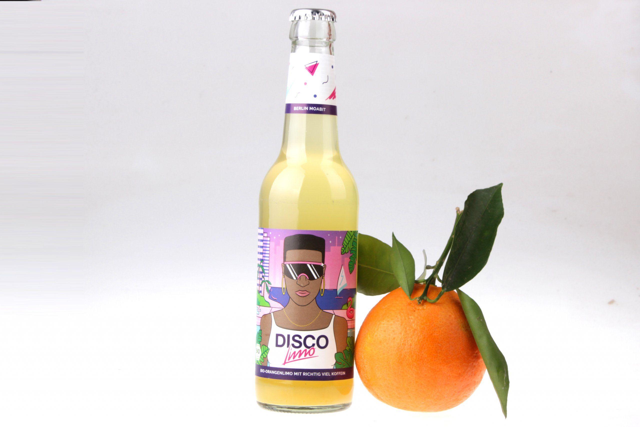 Disco-Limo Orange mit Koffein von feinjemacht