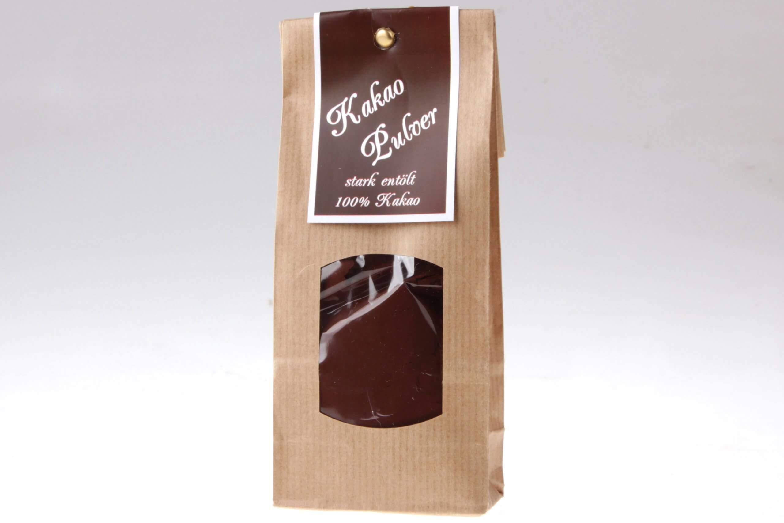 Kakaopulver Pur Schokolade von feinjemacht