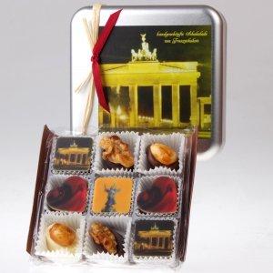 Pralinenpraesent Brandenburger Tor von feinjemacht