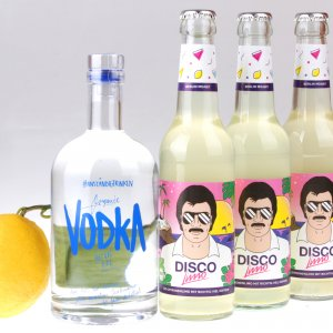 Vodka Disco Lemon Partybox von feinjemacht