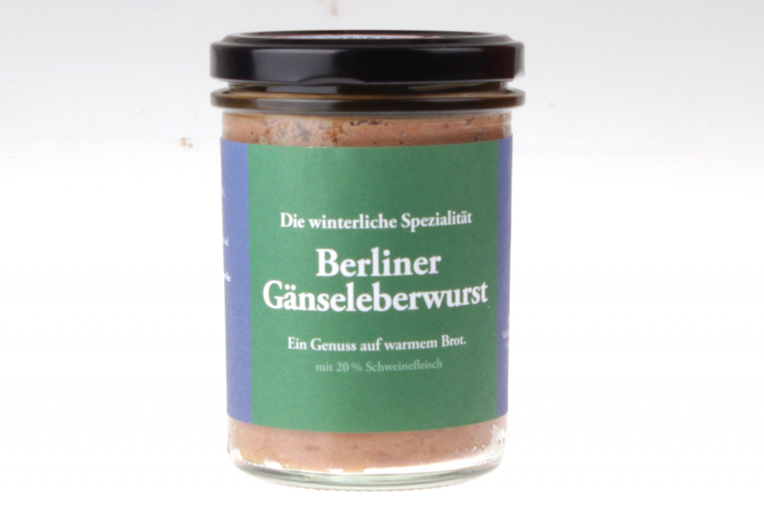 Berliner Gänseleberwurst im Glas von feinjemacht