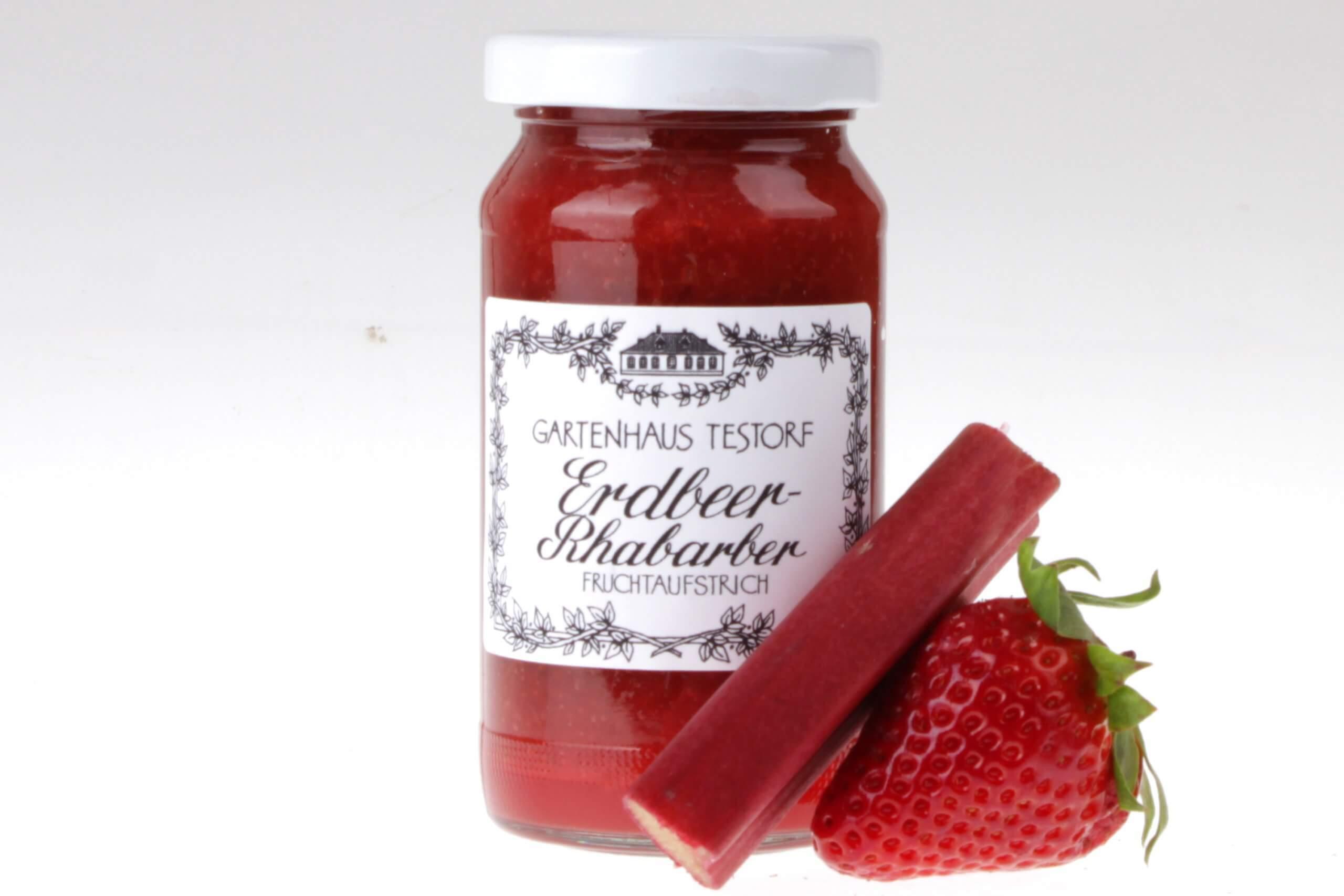 Erdbeer Rhabarber Marmelade von feinjemacht