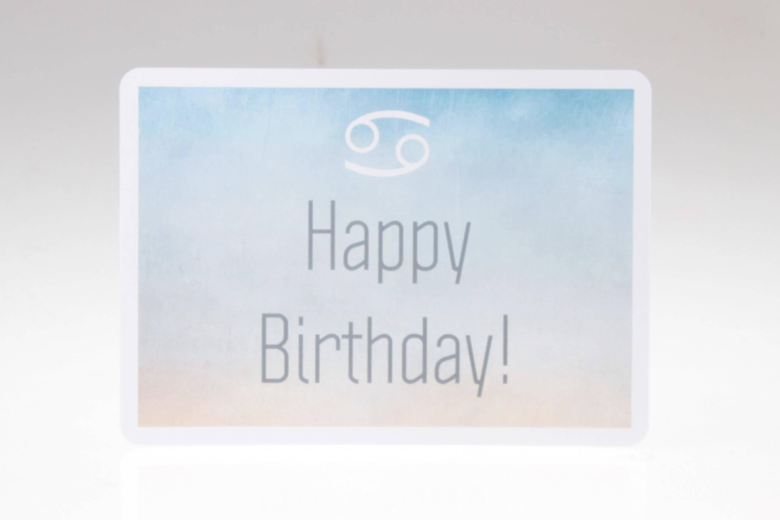 Happy Birthday Grusskarte von feinjemacht