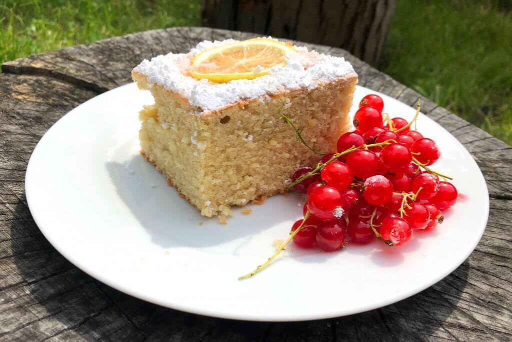 Zitronen-Grieß-Kuchen Feinjemacht Rezept