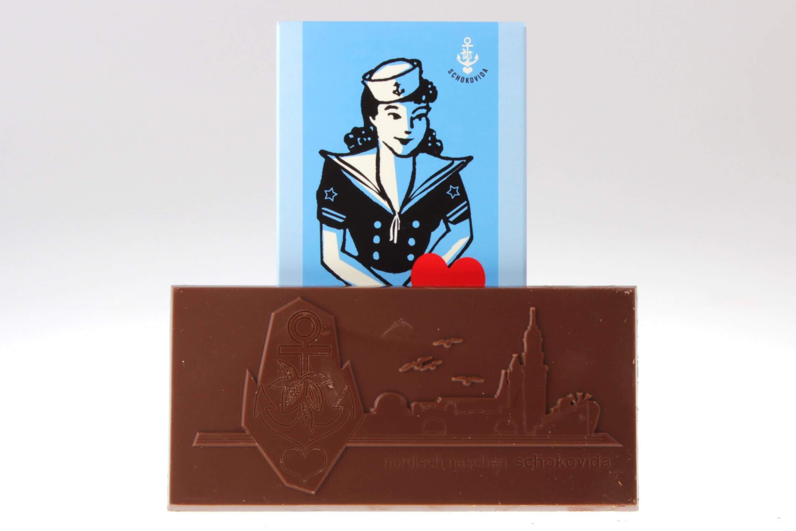 Schokolade für Seute Deerns Vollmilch von feinjemacht