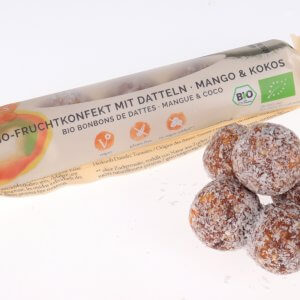 Mango und Kokos Dettelkugeln von feinjemacht
