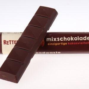 Riegel Mixschokolade Rettergut von feinjemacht