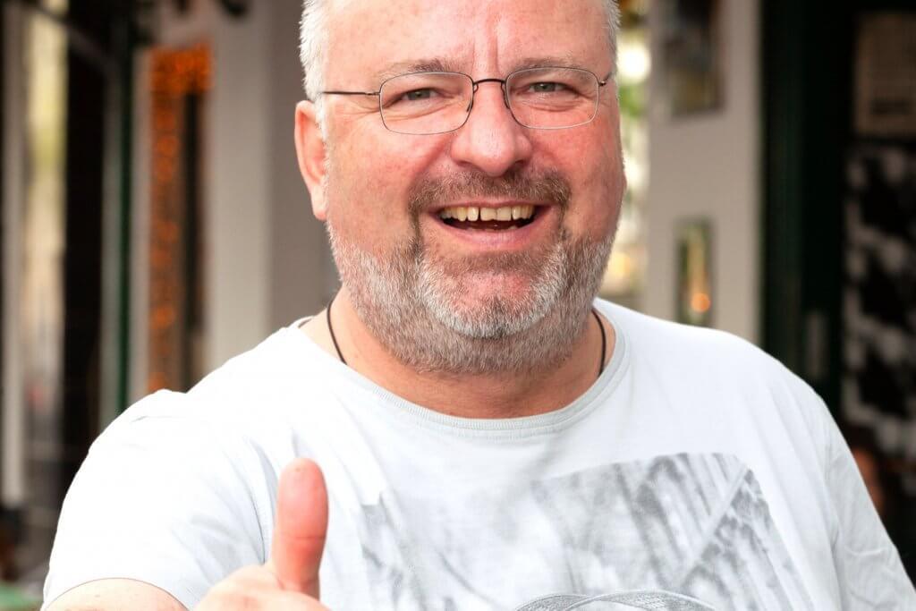 Christian Lohse bei feinjemacht seine Saucen kaufen