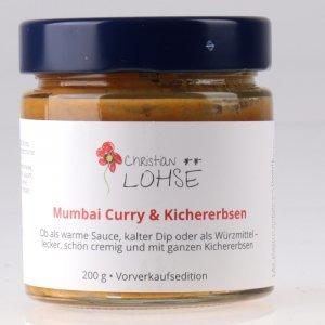 Mumbai Curry mit Kichererbsen Christian Lohse Sauce von feinjemacht