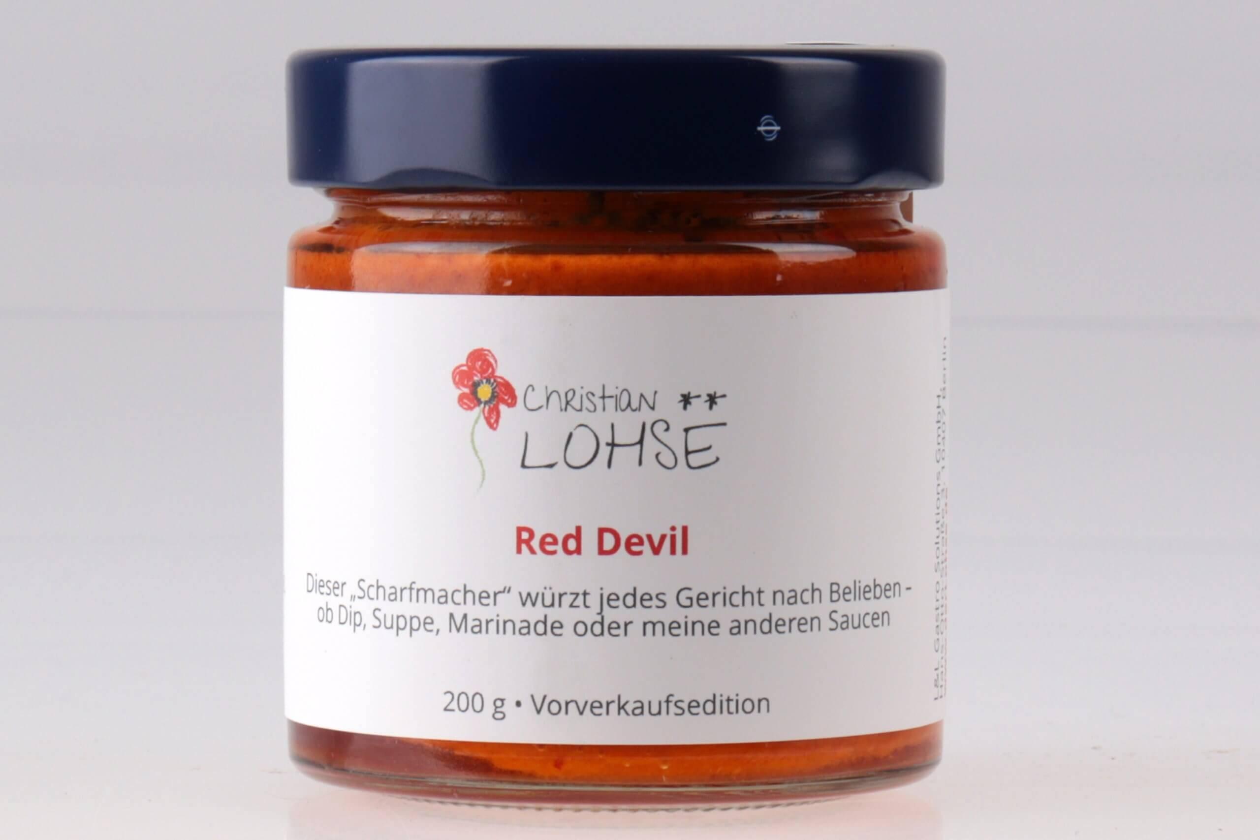 Red Devil Christian Lohse Sauce vonn feinjemacht