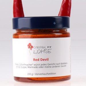 Red Devil Christian Lohse Sauce von feinjemacht