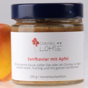 Senfkaviar mit Apfel Christian Lohse Sauce von feinjemacht online kaufen