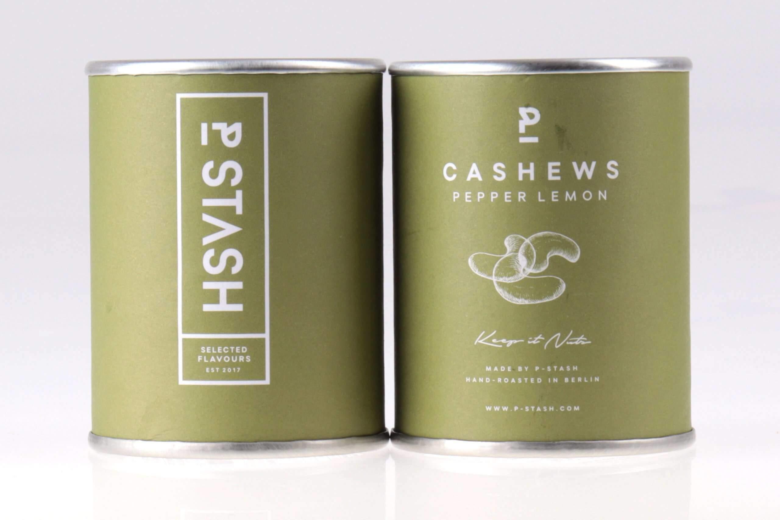 Cashew mit Pfeffer und Zitrone von feinjemacht