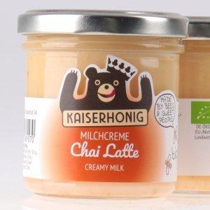 Chai Latte Bio Milchcreme von feinjemacht