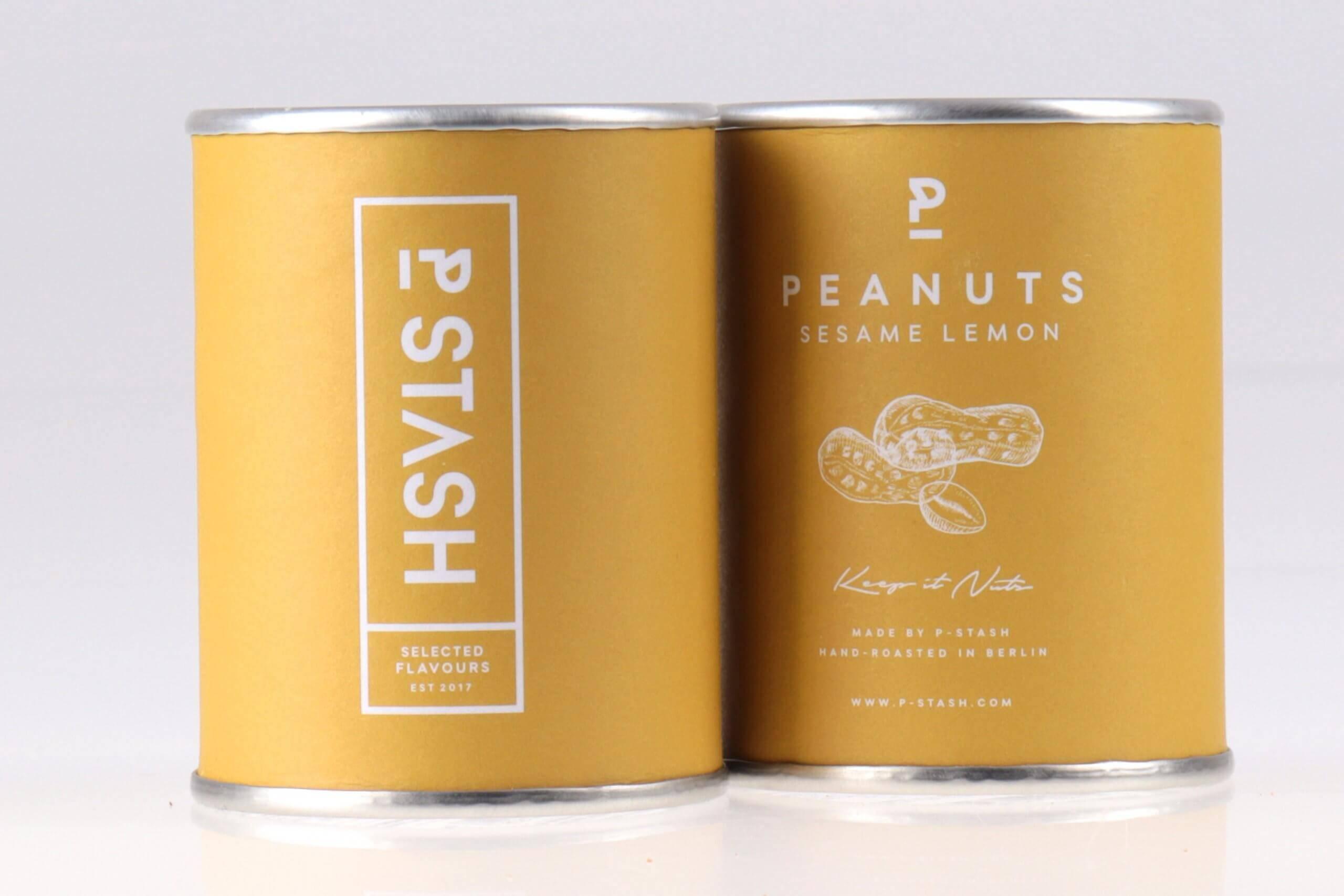 Erdnüsse mit Sesam und Zitrone von feinjemacht kaufen