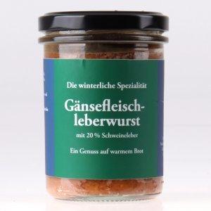 Gänsefleisch Leberwurst im Glas feinjemacht
