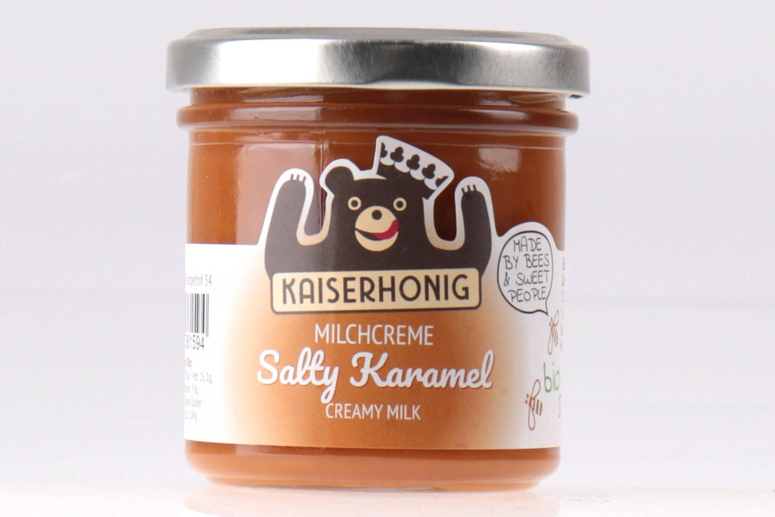 Salty Karamel Bio Milchcreme von feinjemacht online kaufen
