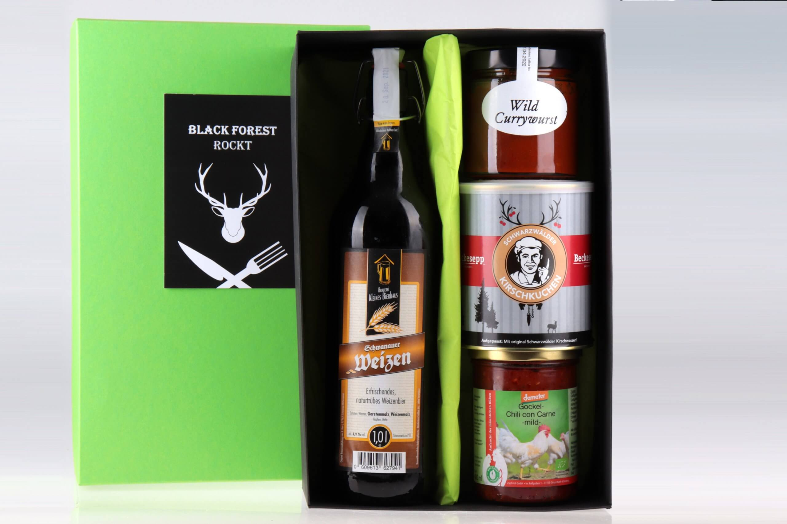 Black Forest Rockt Geschenkbox von feinjemacht