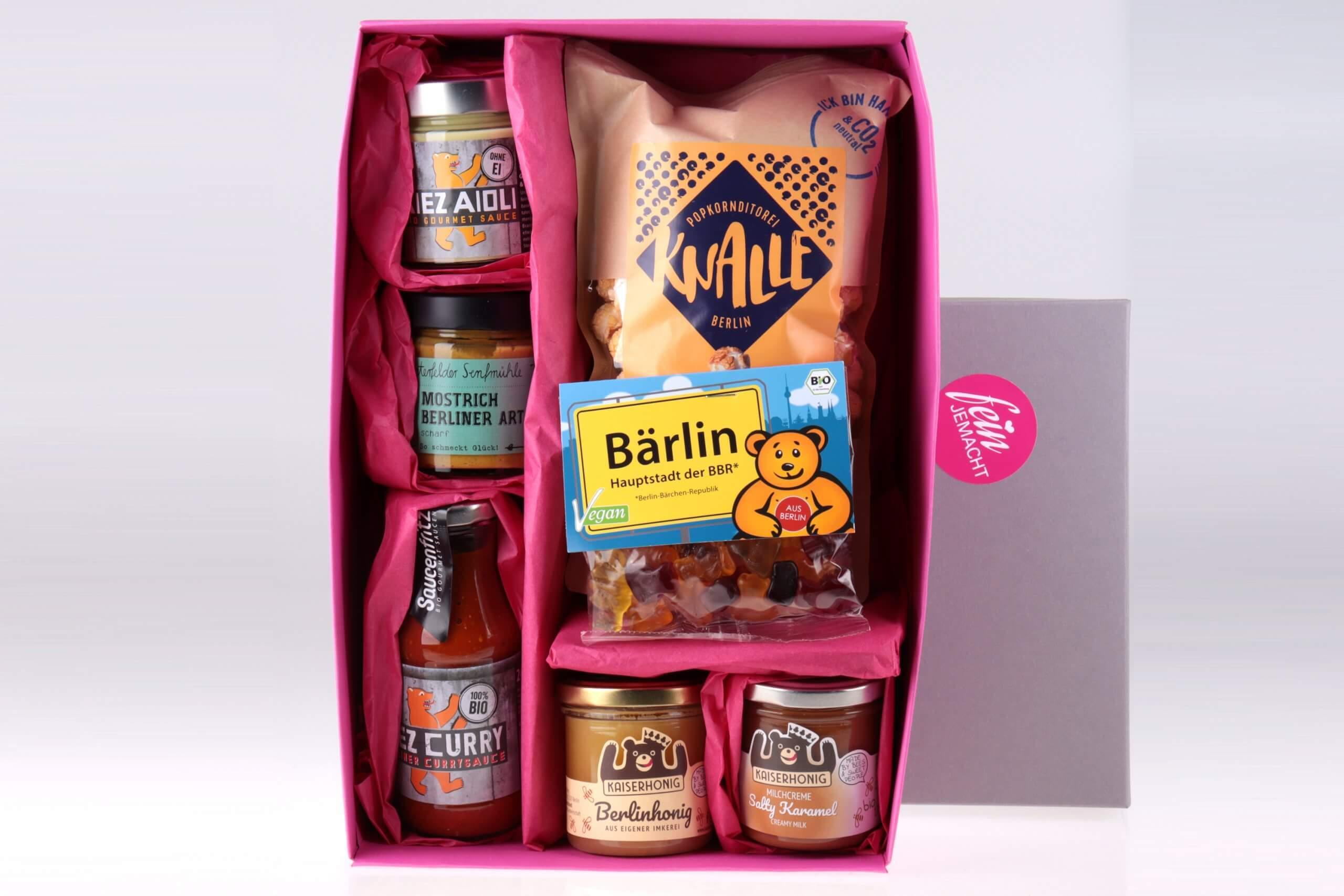 Hot and Sweet Berlin Geschenkbox von feinjemacht
