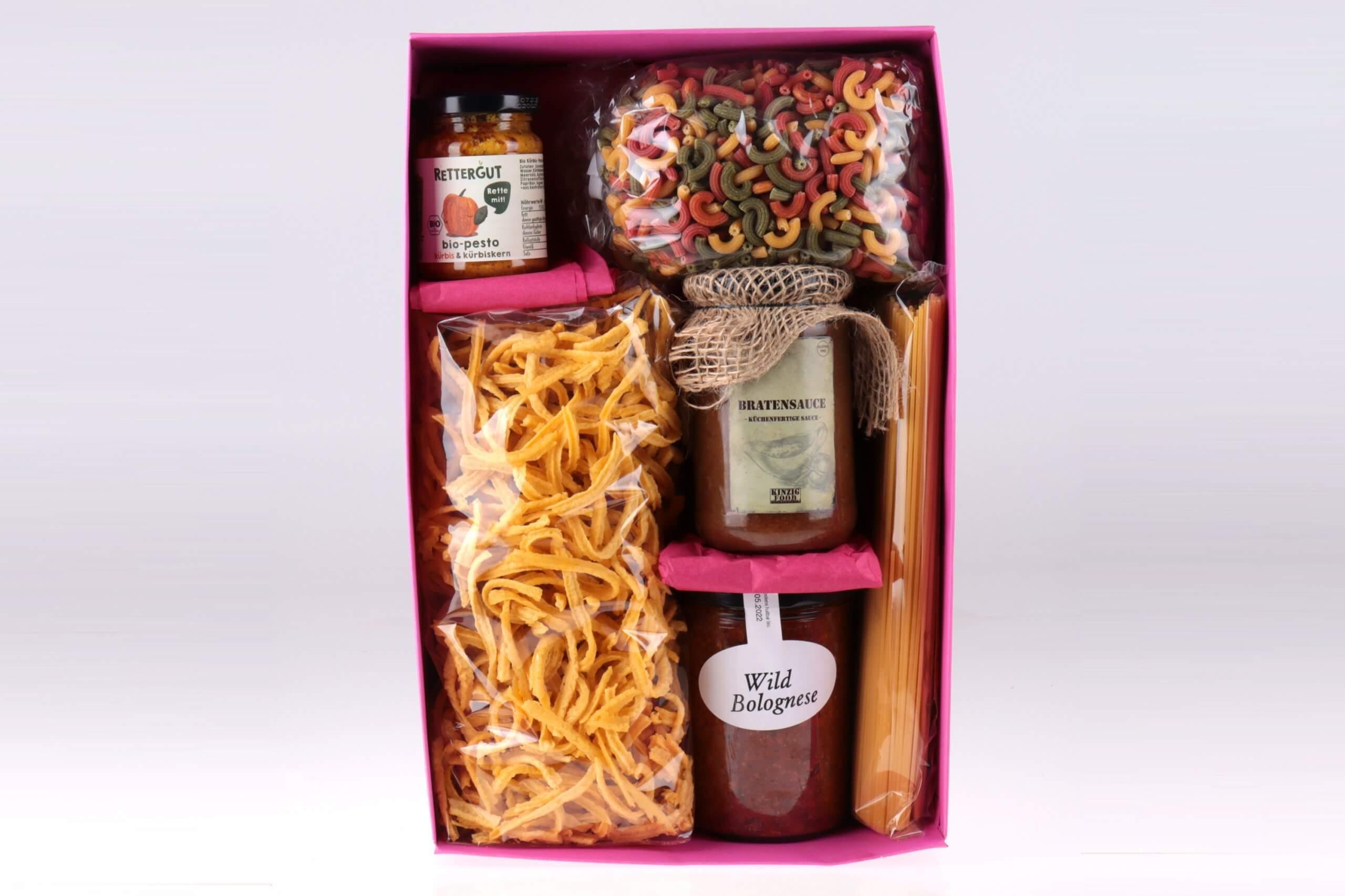 Pasta et Basta Geschenkbox von feinjemacht