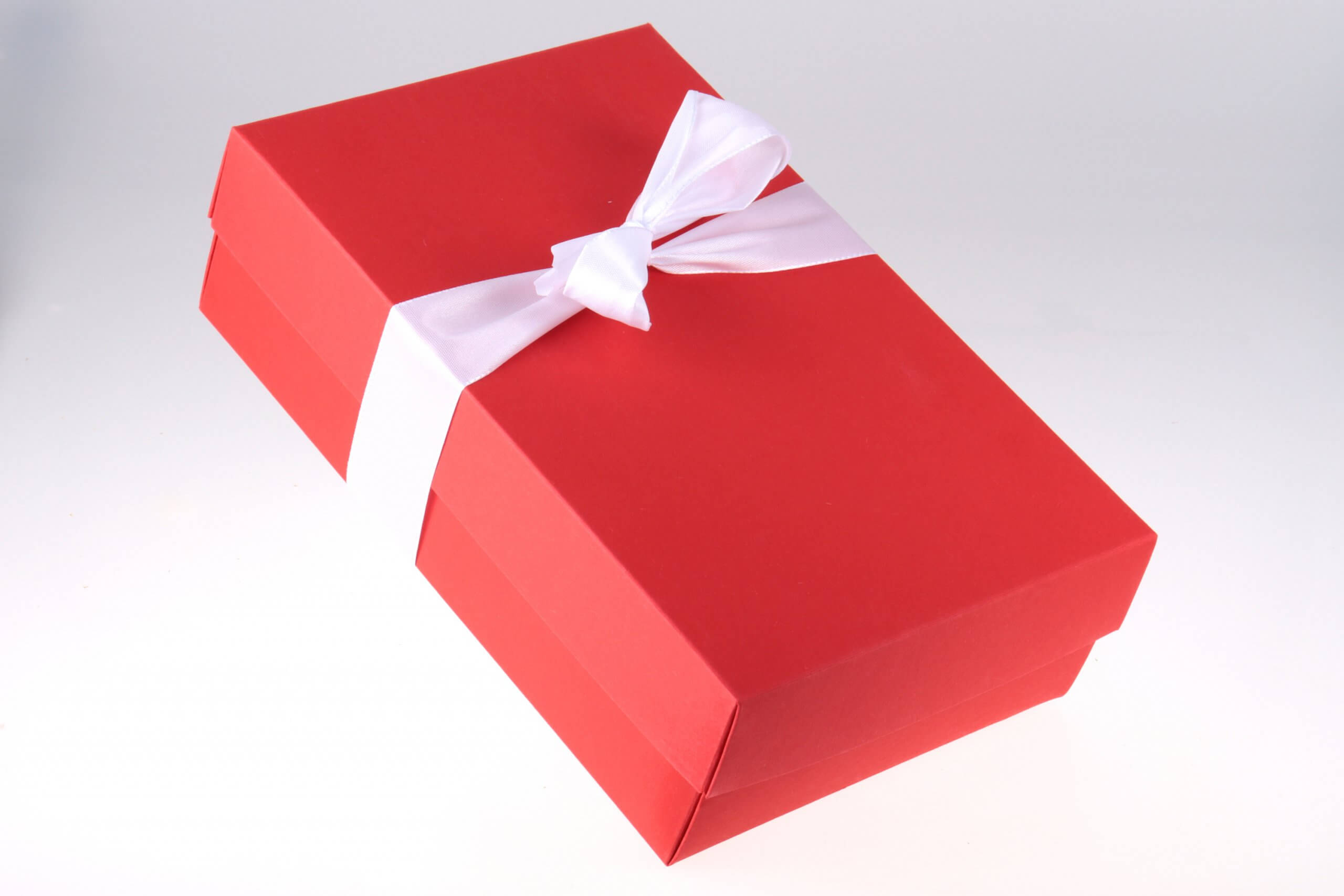 Rote Feinjemacht Geschenkbox